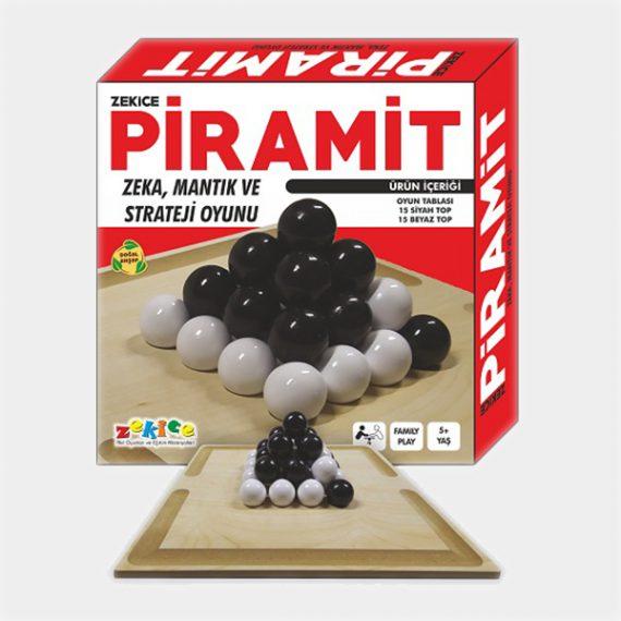 Piramit Oyunu - Ahşap